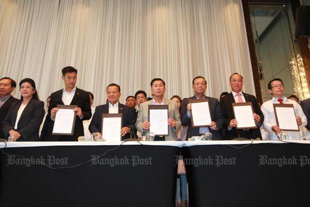 Thailande: Pheu Thai annonce une coalition avec 6 partis hinh anh 1