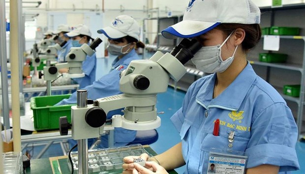 Croissance record des IDE au Vietnam au premier trimestre hinh anh 1