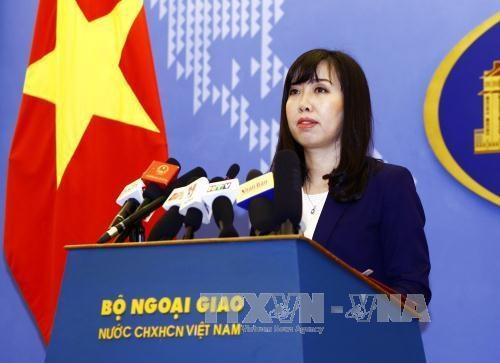 Demander a la Chine de respecter la souverainete du Vietnam sur Hoang Sa et Truong Sa hinh anh 1