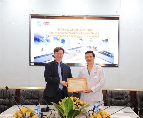 Accreditation Six Sigma pour le Centre d'oncologie de l'hopital Cho Ray hinh anh 1