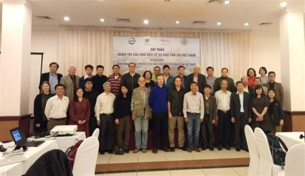 La gouvernance des aires protegees au menu d'un seminaire a Hanoi hinh anh 1