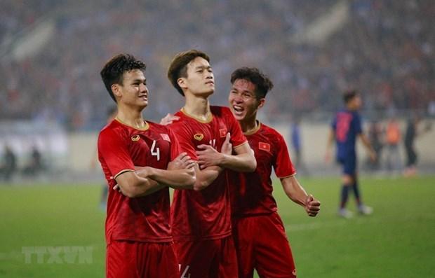 Le secretaire general de l'AFC felicite l'equipe des moins de 23 ans du Vietnam hinh anh 1