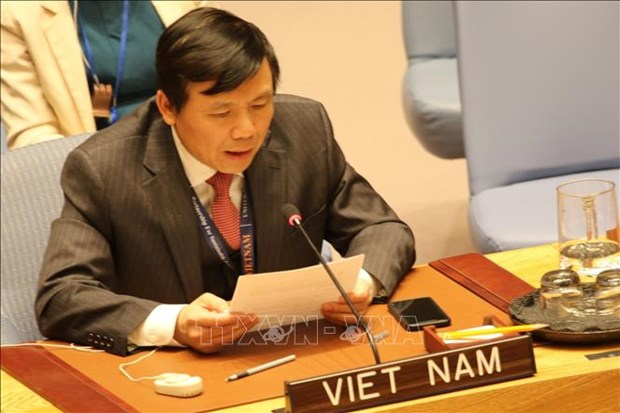Le Vietnam salue la resolution de l'ONU contre le financement du terrorisme hinh anh 1