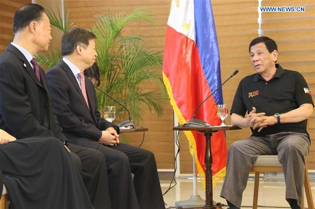La Chine et les Philippines renforcent leur cooperation hinh anh 1