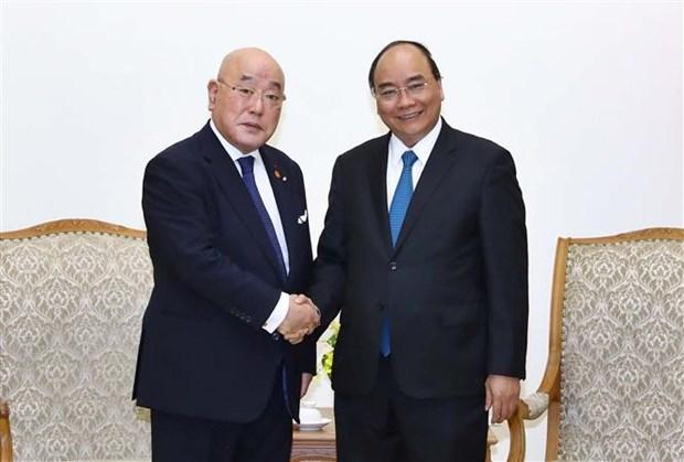 Le PM recoit le conseiller special du cabinet du PM japonais hinh anh 1