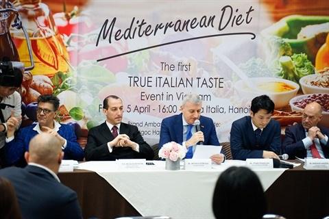 A la decouverte de la gastronomie italienne a Hanoi hinh anh 1