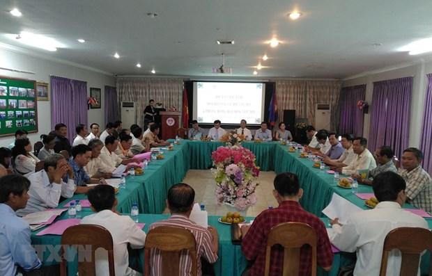 L'Association Khmer-Vietnam au Cambodge accelere ses missions hinh anh 1