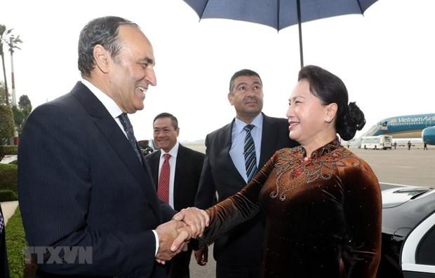 La presidente de l'AN termine sa visite officielle au Maroc hinh anh 1