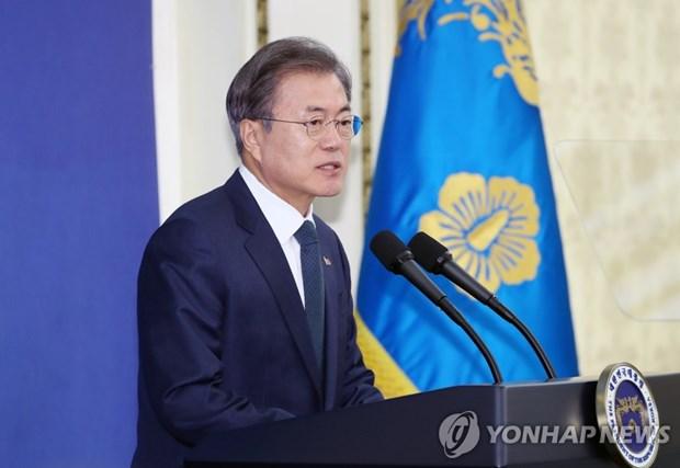 Le president sud-coreen aura un sommet avec les dirigeants de l'ASEAN hinh anh 1