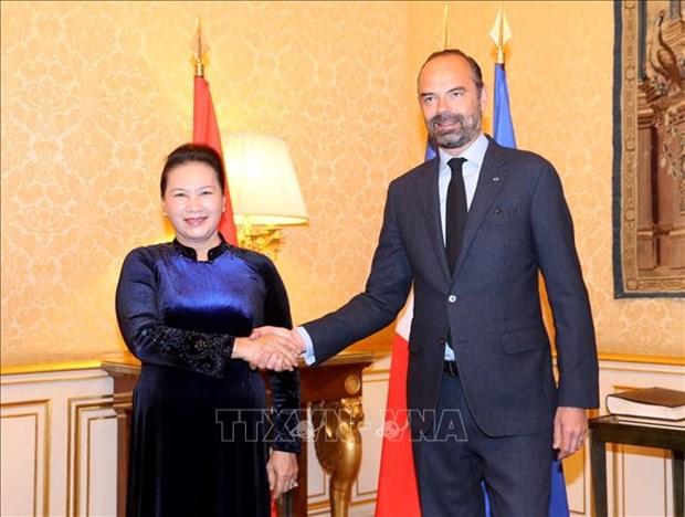 Le Vietnam attache une grande importance a la cooperation avec la France hinh anh 1
