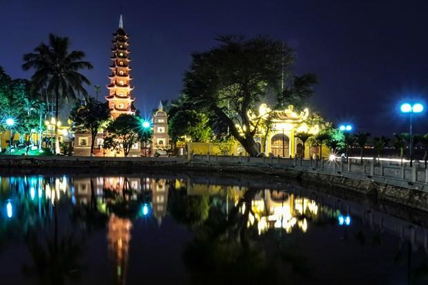 Tran Quoc est l'une des 10 plus belles pagodes du monde hinh anh 1