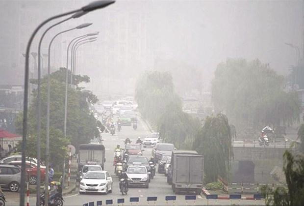 """Pollution aux particules fines a Hanoi : L'information """"n'est pas exacte"""" hinh anh 1"""