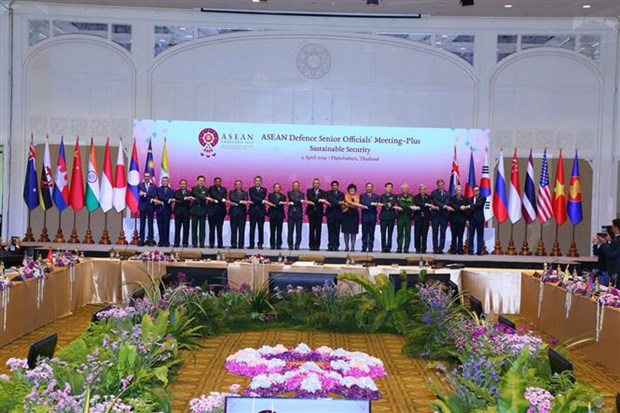 Defense: L'ASEAN et ses partenaires de dialogue se reunissent en Thailande hinh anh 2