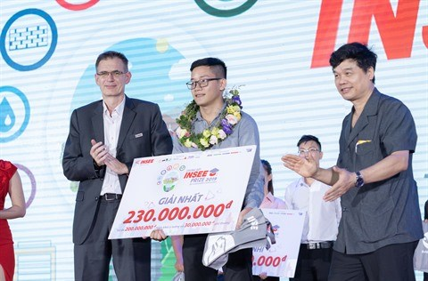 Contruction: l'Universite polytechnique de Ho Chi Minh-Ville remporte le Prix Insee 2019 hinh anh 2