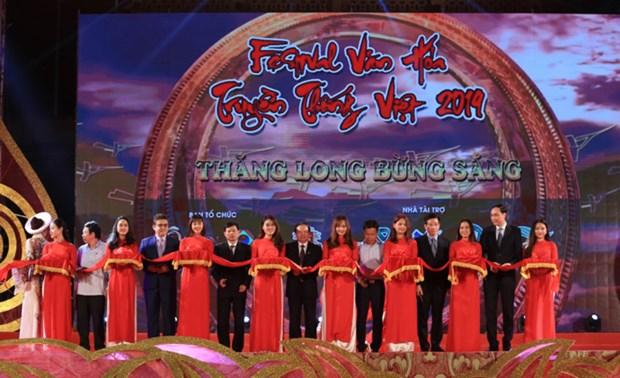 Festival de la culture traditionnelle et echange culturel international a Hanoi hinh anh 1