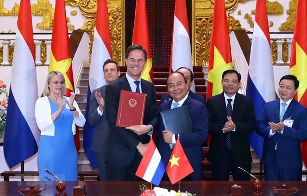 Declaration commune entre le Vietnam et les Pays-Bas hinh anh 1