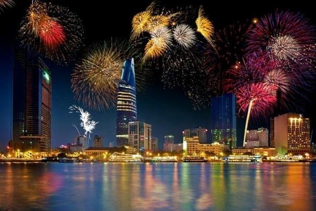 30 avril : Ho Chi Minh-Ville tirera des feux d'artifice dans trois lieux hinh anh 1