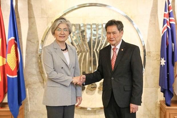 La R. de Coree souhaite elargir les relations avec l'ASEAN hinh anh 1