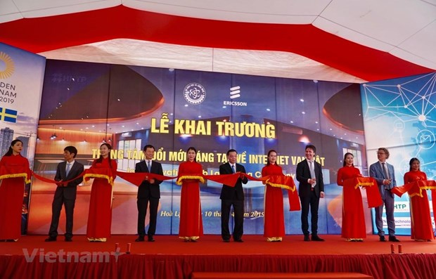 Inauguration d'un centre d'innovation pour l'Internet des Objets a Hanoi hinh anh 1