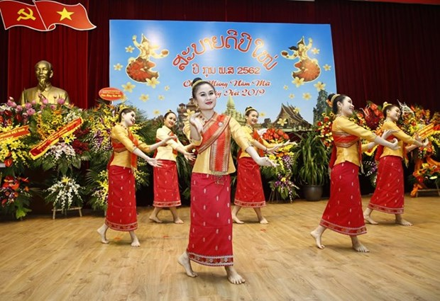 L'ambassade du Laos celebre le Boun Pimay au cœur de Hanoi hinh anh 1