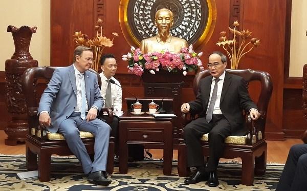 Ho Chi Minh-Ville veut cooperer avec le Land allemand de Thuringe hinh anh 1