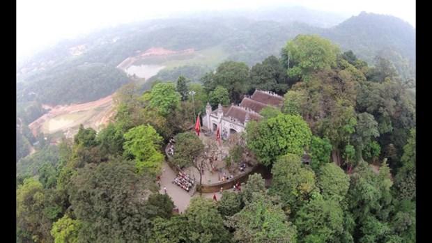 Les temples des rois Hung fondateurs du pays hinh anh 1