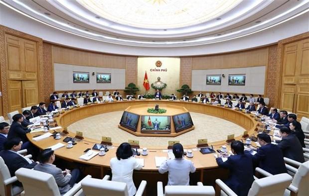 Le gouvernement definit six solutions pour impulser la croissance hinh anh 1
