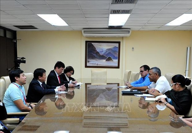 La VNA promeut sa cooperation avec les agences de presse cubaines hinh anh 1