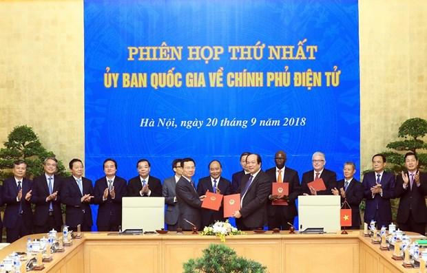 Le Vietnam privilege l'e-gouvernement et l'economie numerique hinh anh 1