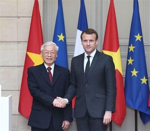 Entre la France et le Vietnam, une relation toujours plus florissante hinh anh 1