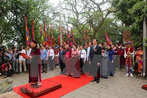 Le Vietnam rend hommage a ses rois fondateurs Hung hinh anh 2