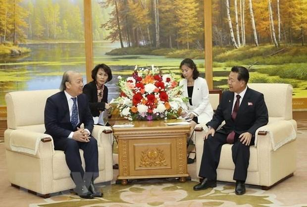 Le Vietnam et la RPDC cultivent leurs liens d'amitie traditionnelle hinh anh 1