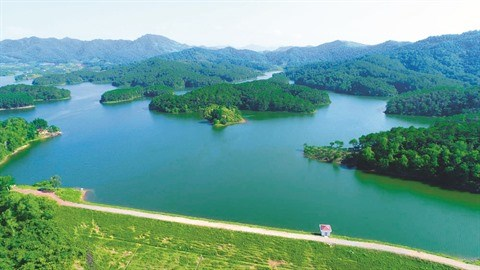Le charme de la zone touristique de Khuon Than a Bac Giang hinh anh 1