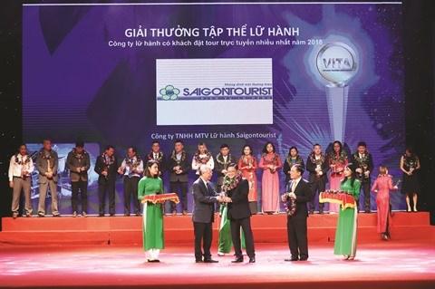Saigontourist remporte de nombreux prix a la VITM 2019 hinh anh 1