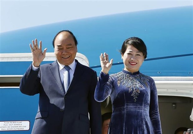 Le PM Nguyen Xuan Phuc entame sa visite officielle en Republique tcheque hinh anh 1
