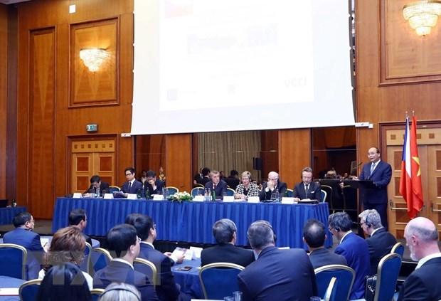 Le Forum d'affaires Vietnam-R. tcheque a Prague hinh anh 1