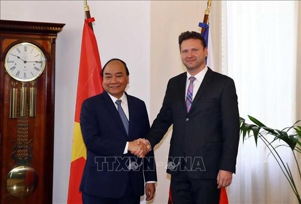 Le Vietnam attache l'importance a ses relations avec la R. tcheque hinh anh 1