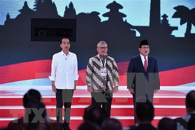 Debut des elections presidentielle et legislative en Indonesie hinh anh 1