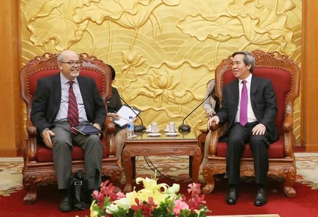 Le Vietnam souhaite un soutien accru du FMI hinh anh 1