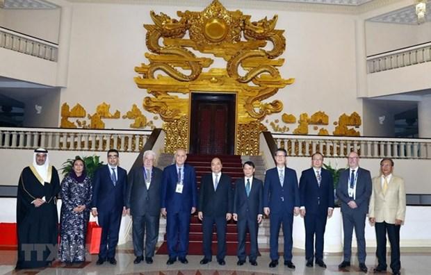 Le PM recoit les participants a la 44e reunion du Comite executif de l'OANA hinh anh 1