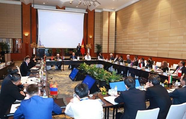 Les membres de l'OANA apprecient le theme de la reunion et l'accueil de la VNA hinh anh 1