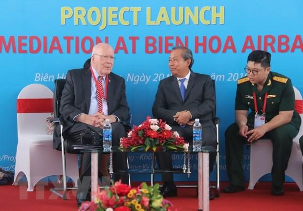 Le Vietnam et les Etats-Unis signent un document pour assister les personnes handicapees hinh anh 1