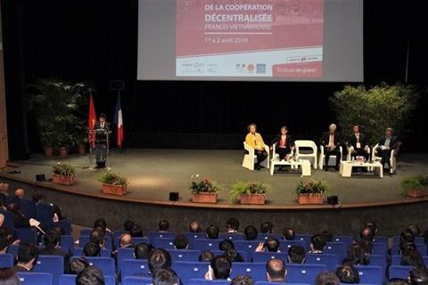 La France et le Vietnam conscients du role pionnier de la cooperation decentralisee hinh anh 2
