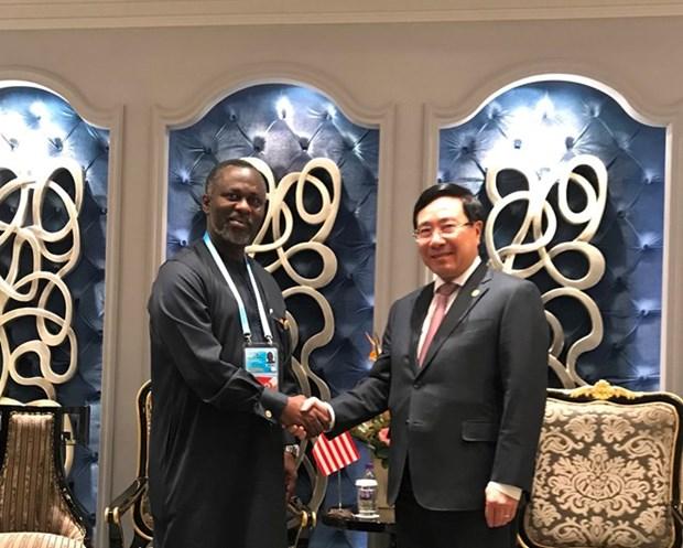 Le Vietnam intensifie la cooperation avec le Liberia et Djibouti hinh anh 1
