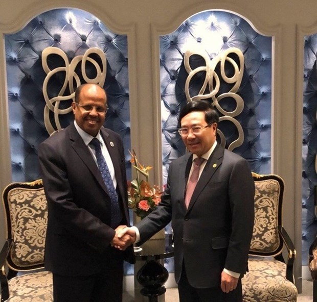 Le Vietnam intensifie la cooperation avec le Liberia et Djibouti hinh anh 2
