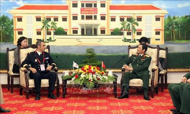 Le Vietnam estime le role du CISM dans la promotion de la cooperation entre les armees hinh anh 1