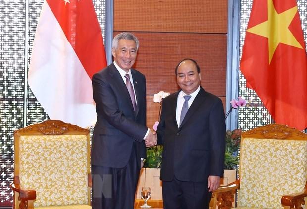 Singapour va encourager ses entreprises a investir au Vietnam hinh anh 1