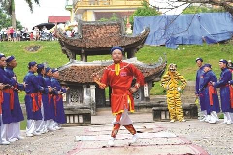 Hanoi œuvre a la promotion des patrimoines culturels nationaux hinh anh 1