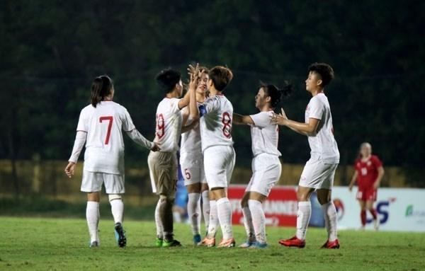 Championnat feminin AFC U-19 : le Vietnam surclasse le Liban hinh anh 1