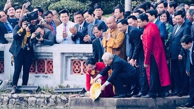 Les Vietnamiens de l'etranger, des acteurs importants pour le developpement du pays hinh anh 1
